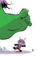 Astonishing Ant-Man Vol 1 1 Baby Variant Textless