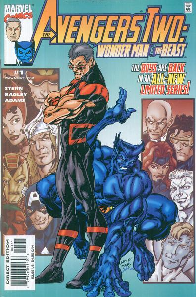 Avengers Two: Wonder Man & Beast Vol 1 1