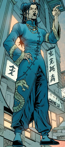 Black Dragon (Lin) (Earth-616)