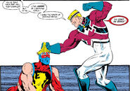 Brian Braddock (Earth-616) and Brian Braddock (Earth-597) from Excalibur Vol 1 10 001