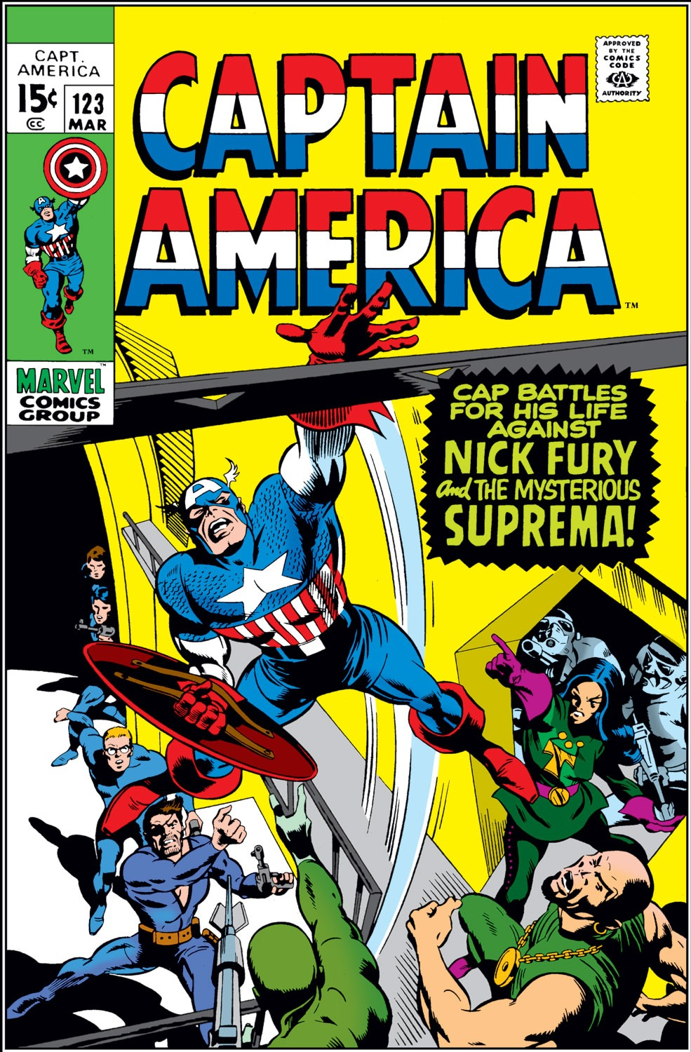 Captain America Vol 1 123