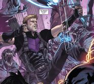 Clinton Barton (Earth-616) from Avengers World Vol 1 8 001