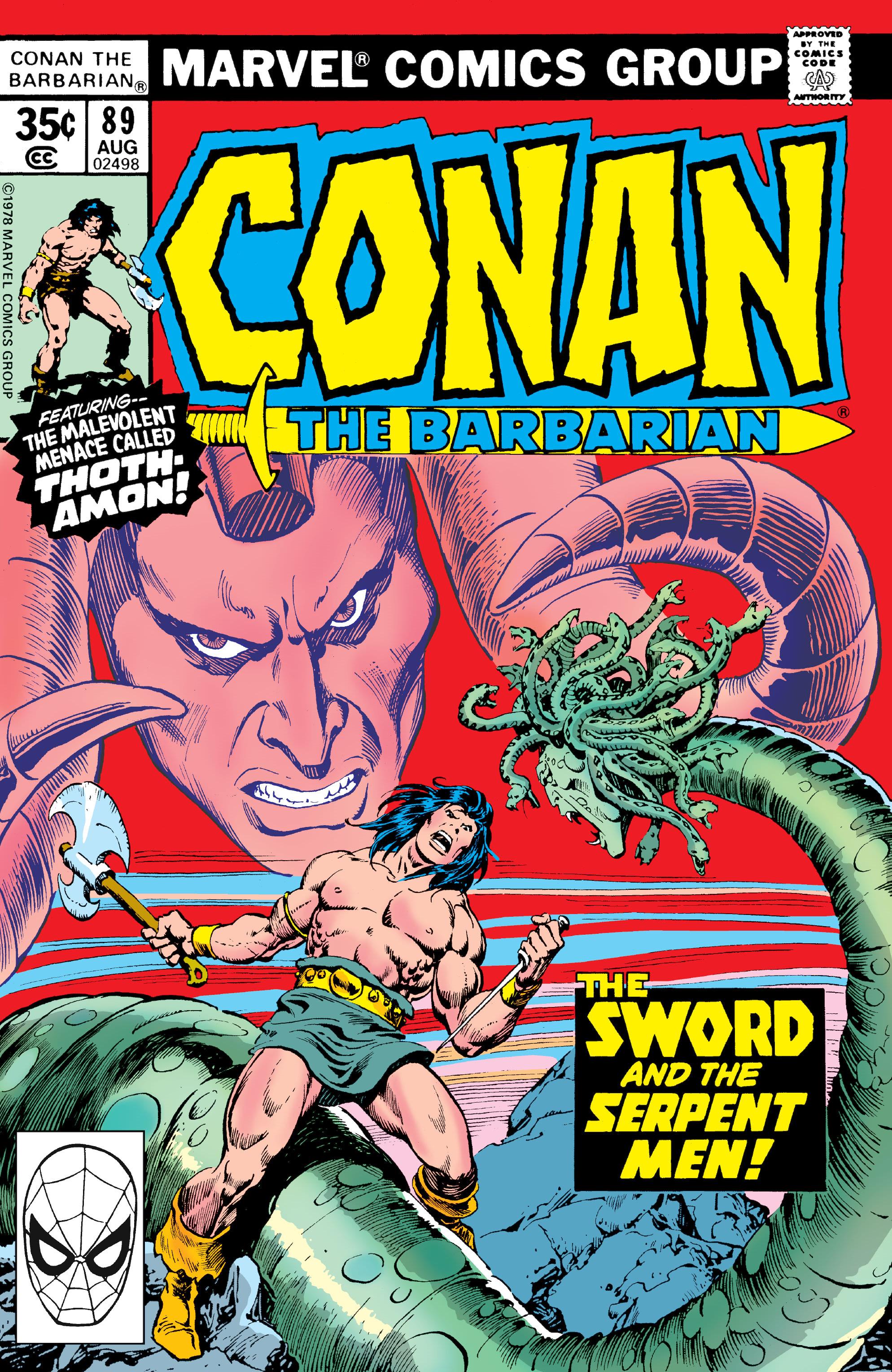 Conan the Barbarian Vol 1 89