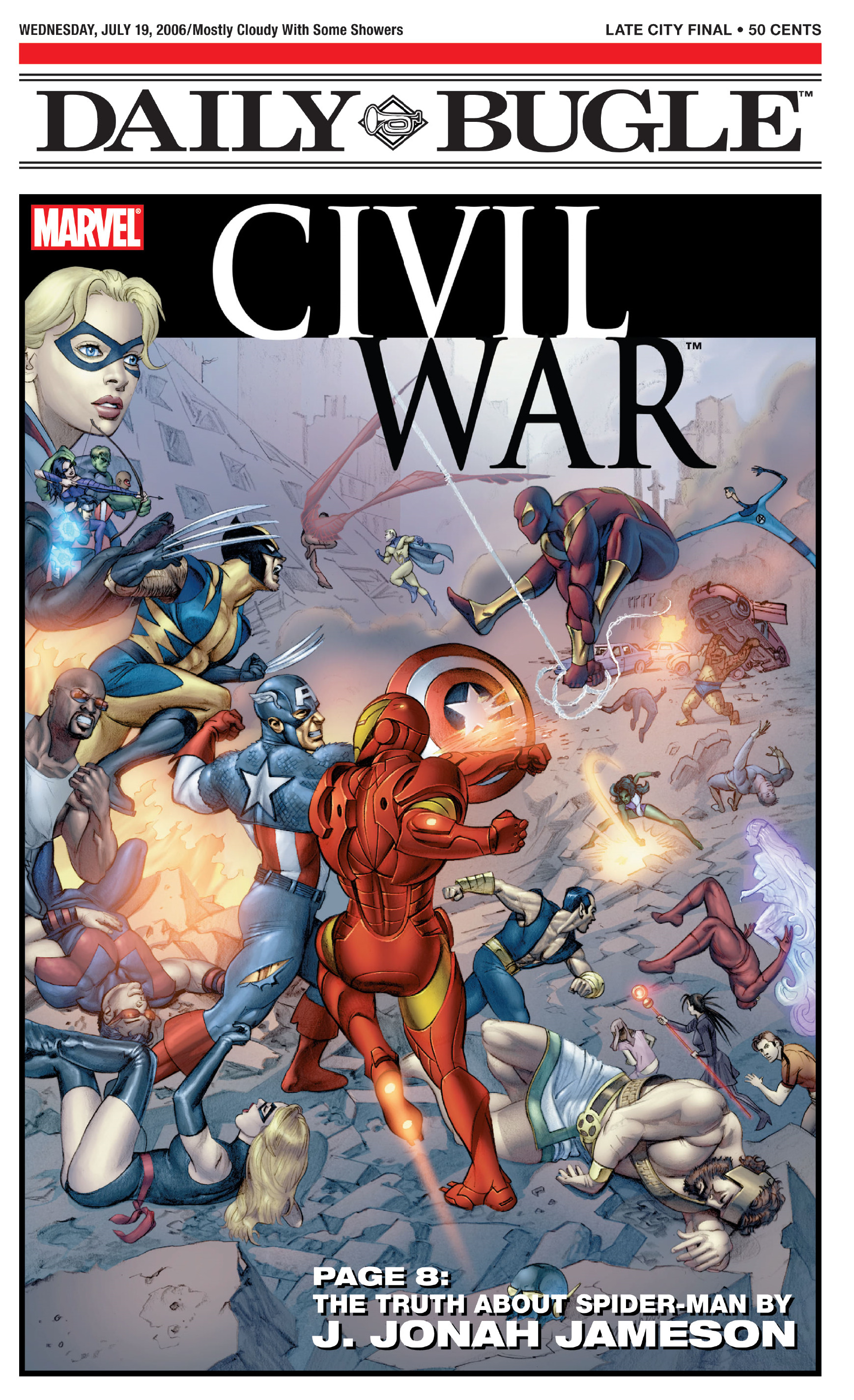 Daily Bugle Civil War Newspaper Special Vol 1 1