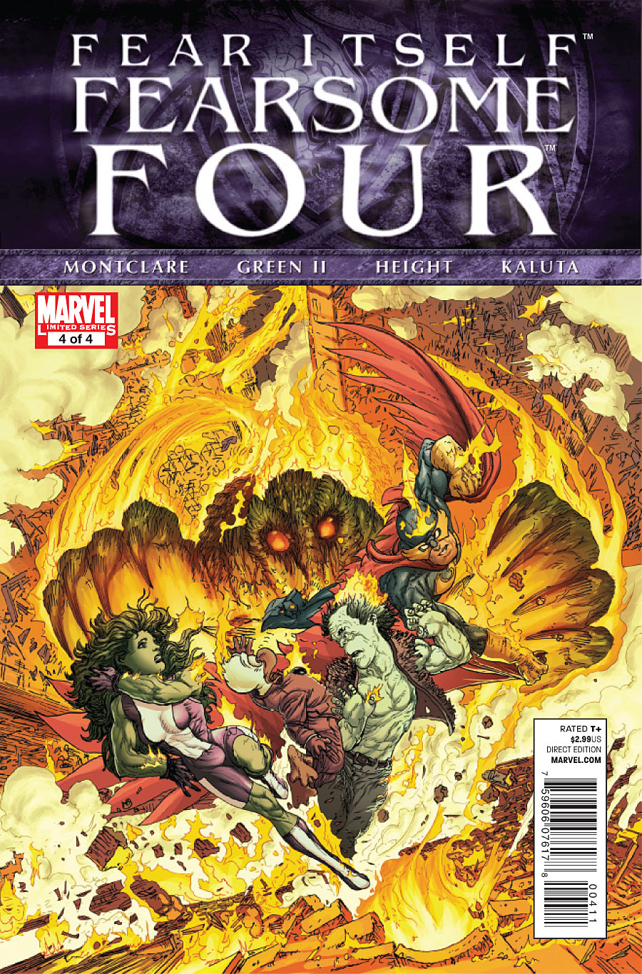 Fear Itself: Fearsome Four Vol 1 4