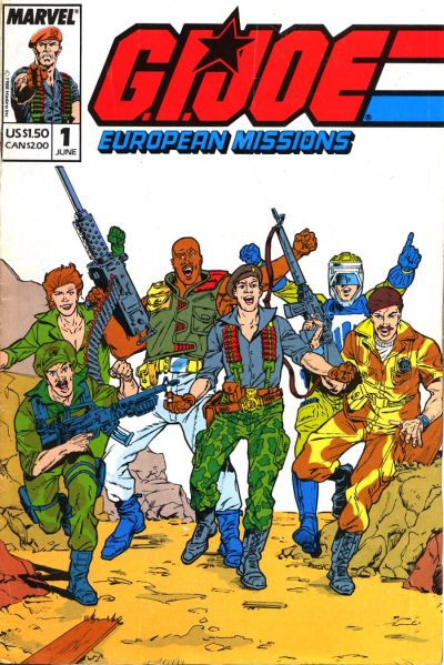 G.I. Joe: European Missions Vol 1 1