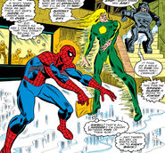 Jackson Arvad (Earth-616) and Peter Parker (Earth-616) from Amazing Spider-Man Vol 1 167 0001