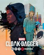 Marvel's Cloak & Dagger poster 012
