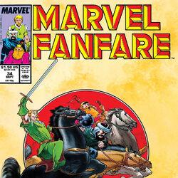 Marvel Fanfare Vol 1 34