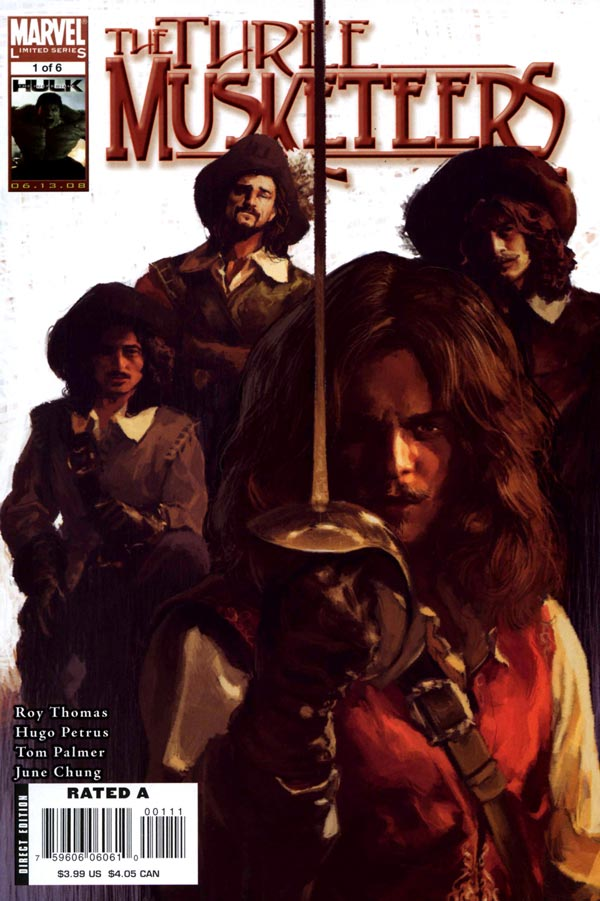 Marvel Illustrated: The Three Musketeers Vol 1