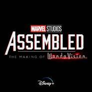 Marvel Studios Assembled The Making of WandaVision Logo