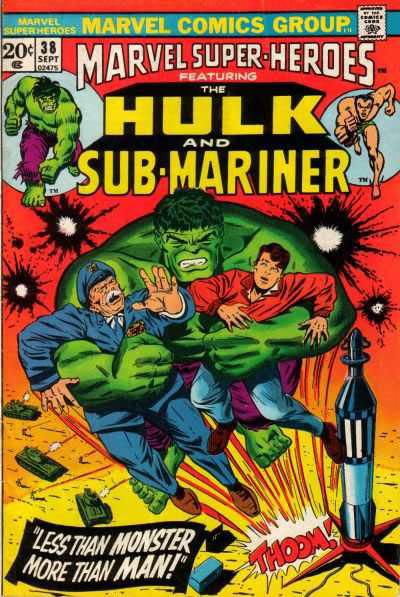 Marvel Super-Heroes Vol 1 38