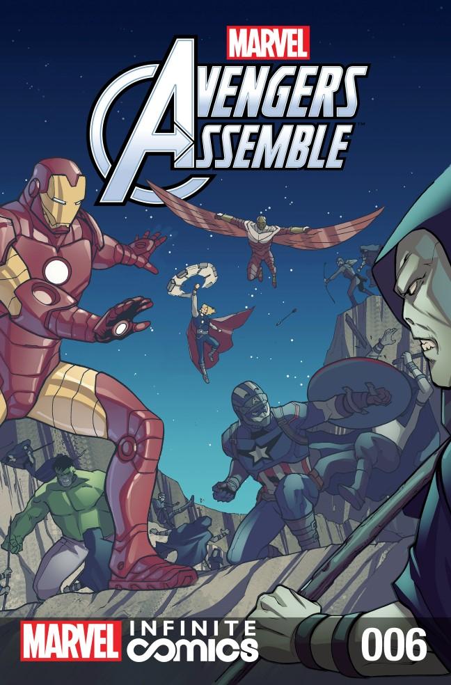 Marvel Universe Avengers Infinite Comic Vol 1 6