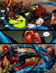 Reed Richards (Earth-616) Peter Parker (Earth-616) Civil War Vol 1 7.png