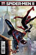 Spider-Men II Vol 1 4 Saiz Connecting Variant