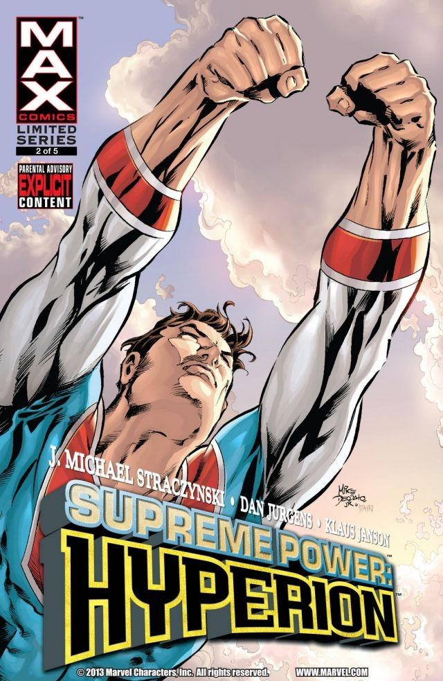 Supreme Power: Hyperion Vol 1 2