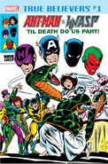 True Believers Ant-Man and the Wasp - 'Til Death Do Us Part Vol 1 1