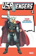 U.S.Avengers Vol 1 1 Oklahoma Variant