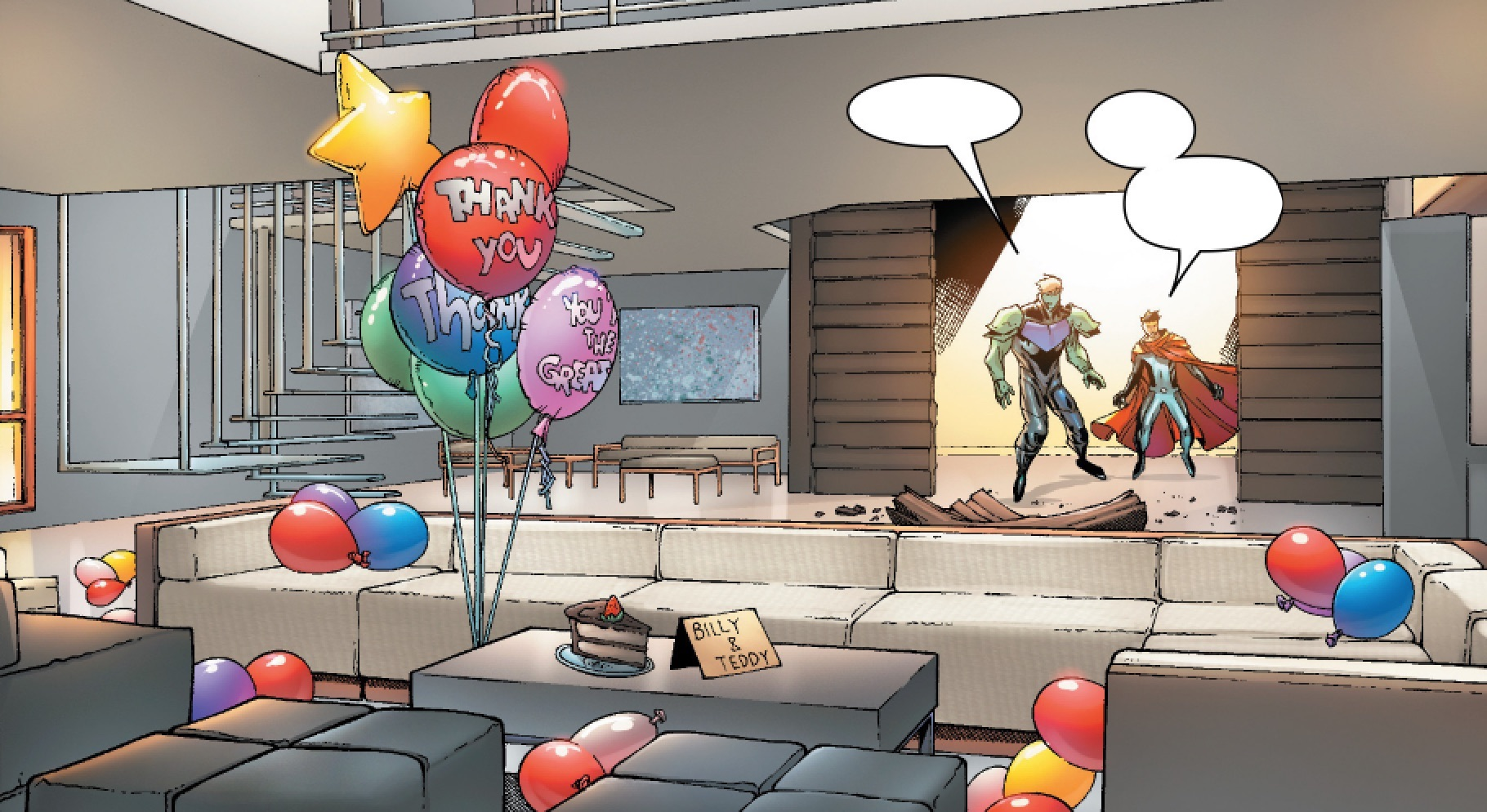 Wiccan and Hulkling's Apartment/Gallery