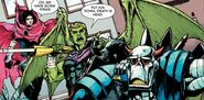William Kaplan (Earth-616) and Theodore Altman (Earth-616) with Death's Head (Earth-TRN234) from Death's Head Vol 2 2 001