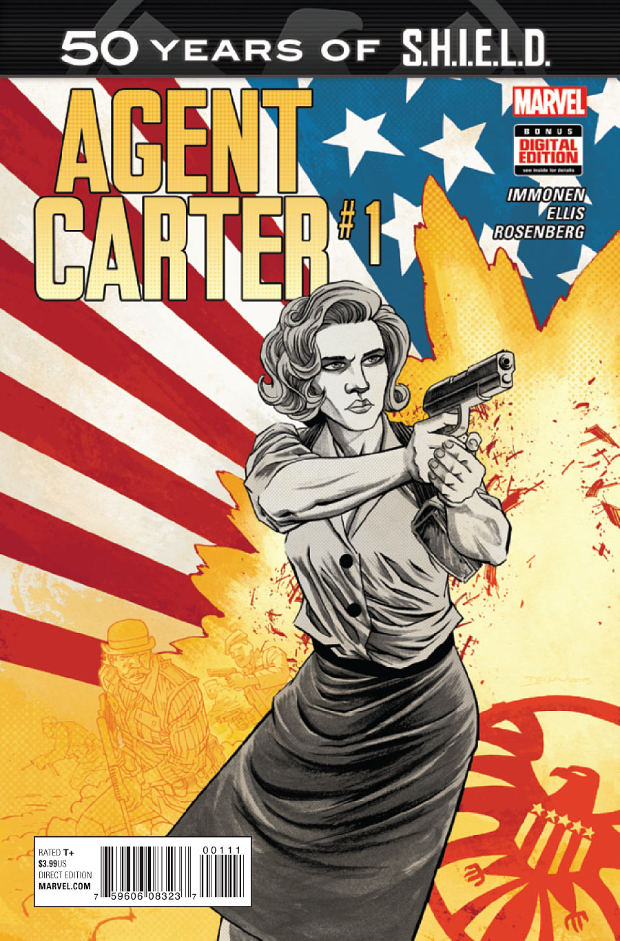 Agent Carter: S.H.I.E.L.D. 50th Anniversary Vol 1 1