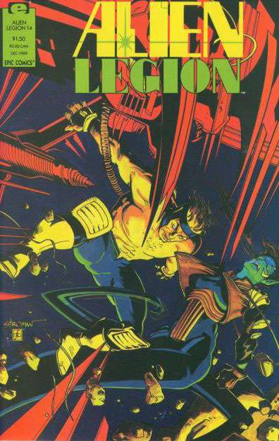 Alien Legion Vol 2 14