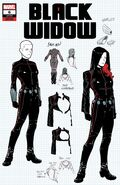 Black Widow Vol 8 6 Design Variant