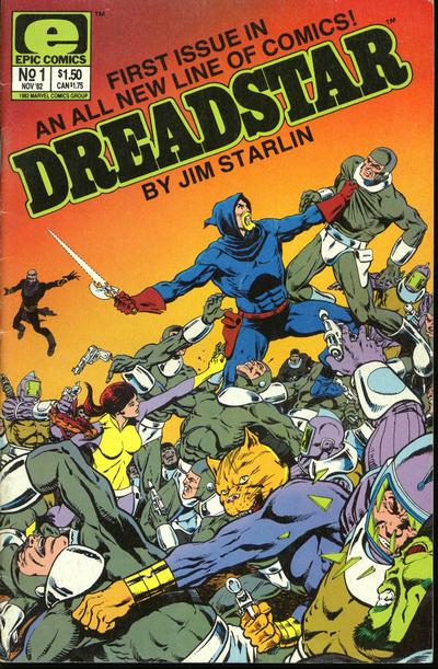 Dreadstar Vol 1 1