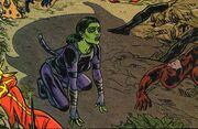 Gamora Zen Whoberi Ben Titan (Earth-Unknown) and Thanos (Earth-Unknown) from Infinity Countdown Adam Warlock Vol 1 1 0001.jpg