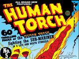Human Torch Vol 1 5 (Fall)