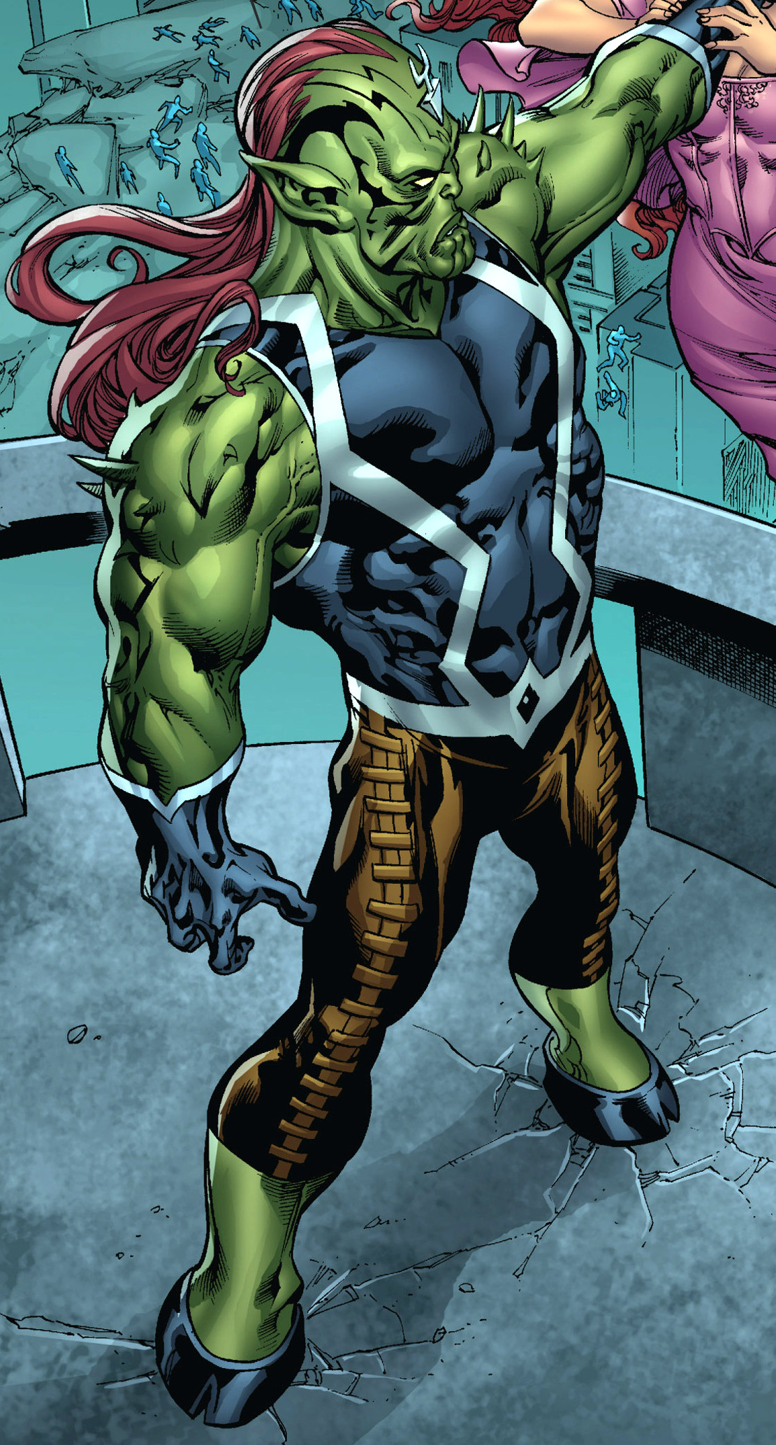 Inhumans (Skrull) (Earth-616)