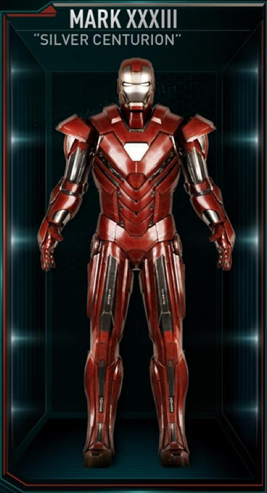 Iron Man Armor MK XXXIII (Earth-199999)