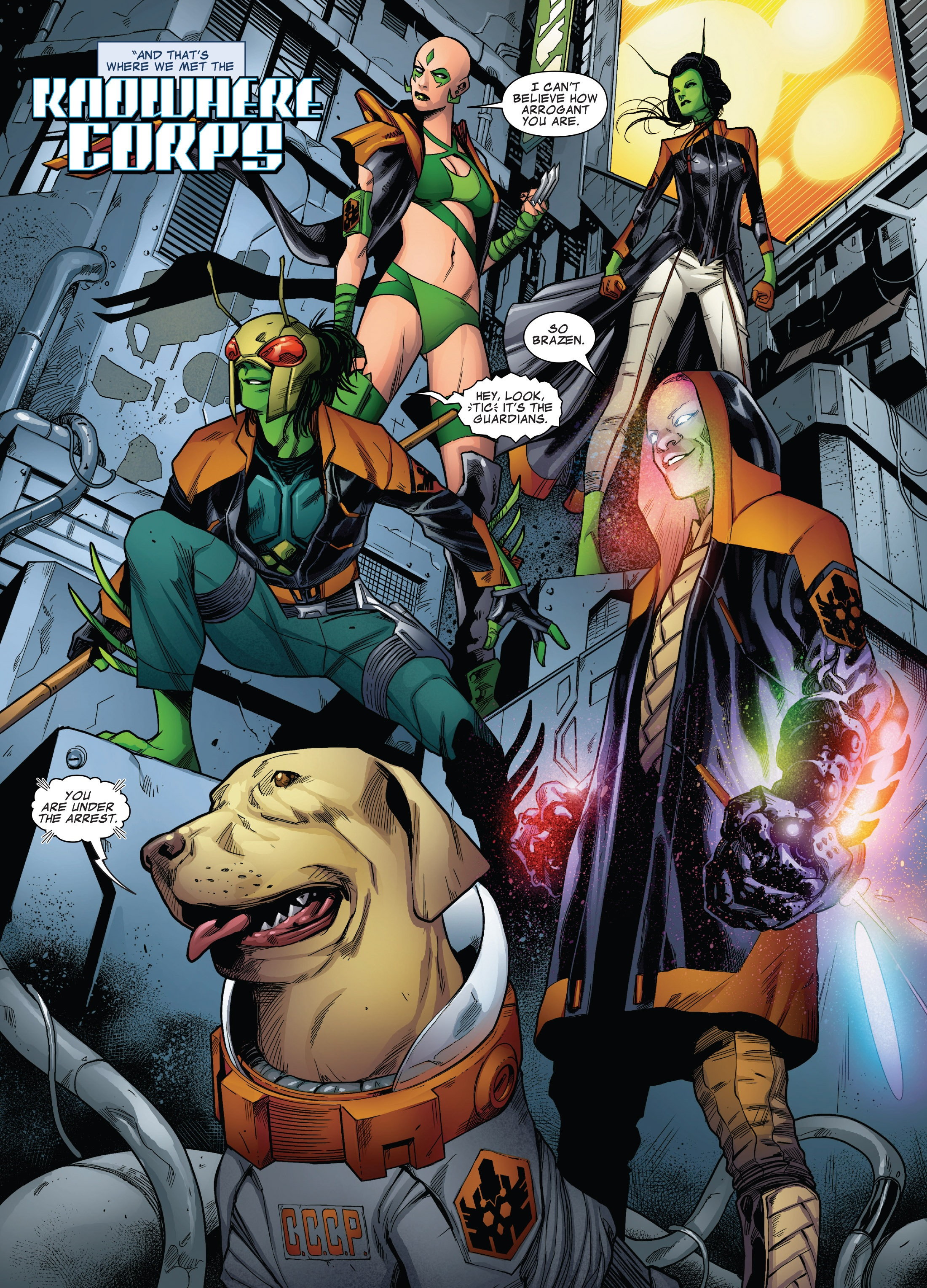 Knowhere Corps (Earth-616)