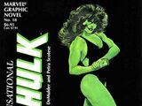 Marvel Graphic Novel: The Sensational She-Hulk Vol 1 1