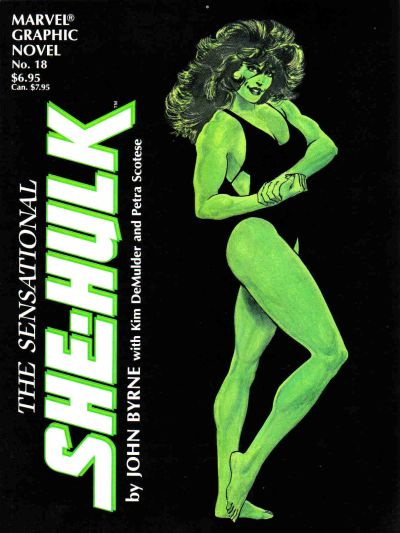 Marvel Graphic Novel: The Sensational She-Hulk Vol 1 1