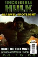 Marvel Spotlight Incredible Hulk Vol 1 1