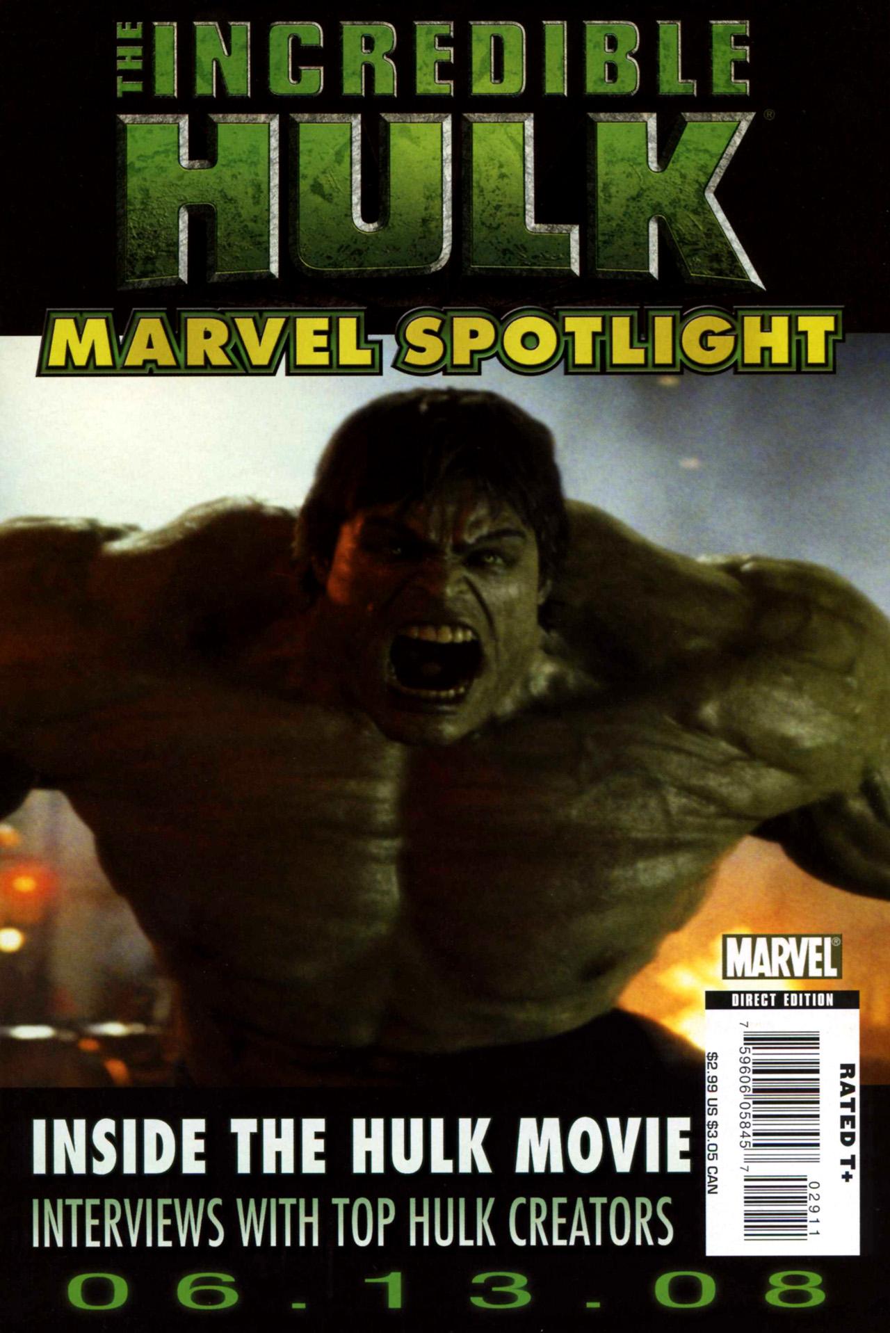 Marvel Spotlight: Incredible Hulk Vol 1 1