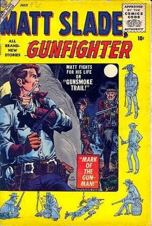 Matt Slade, Gunfighter Vol 1 2.jpg