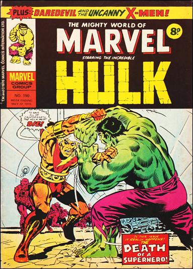 Mighty World of Marvel Vol 1 190