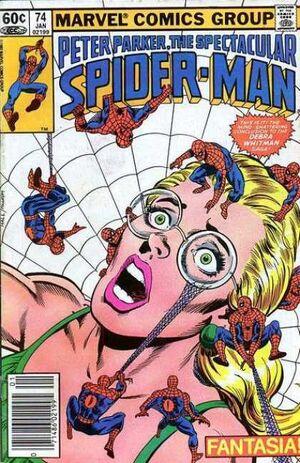 Peter Parker, The Spectacular Spider-Man Vol 1 74.jpg