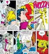 Thor Odinson (Earth-616) and Loki Laufeyson (Earth-616) from Thor Vol 1 363 0001