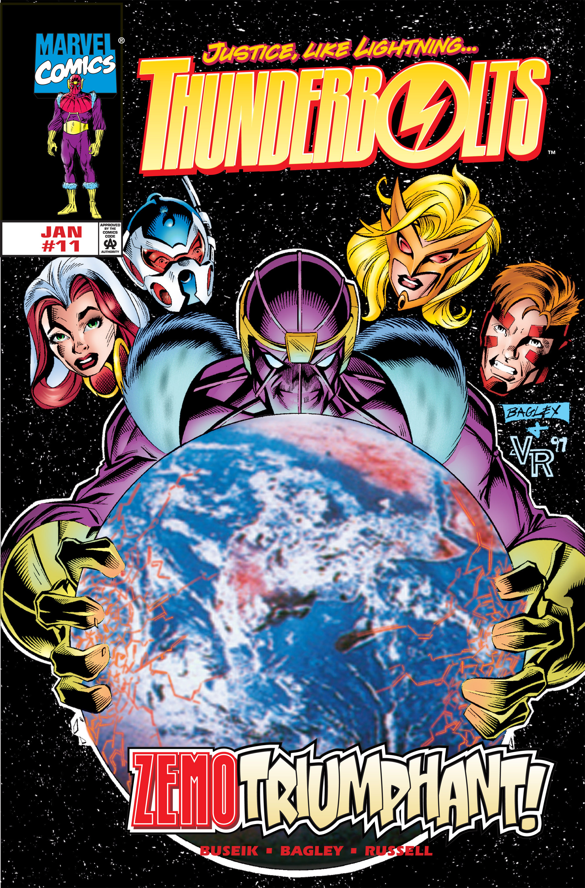 Thunderbolts Vol 1 11