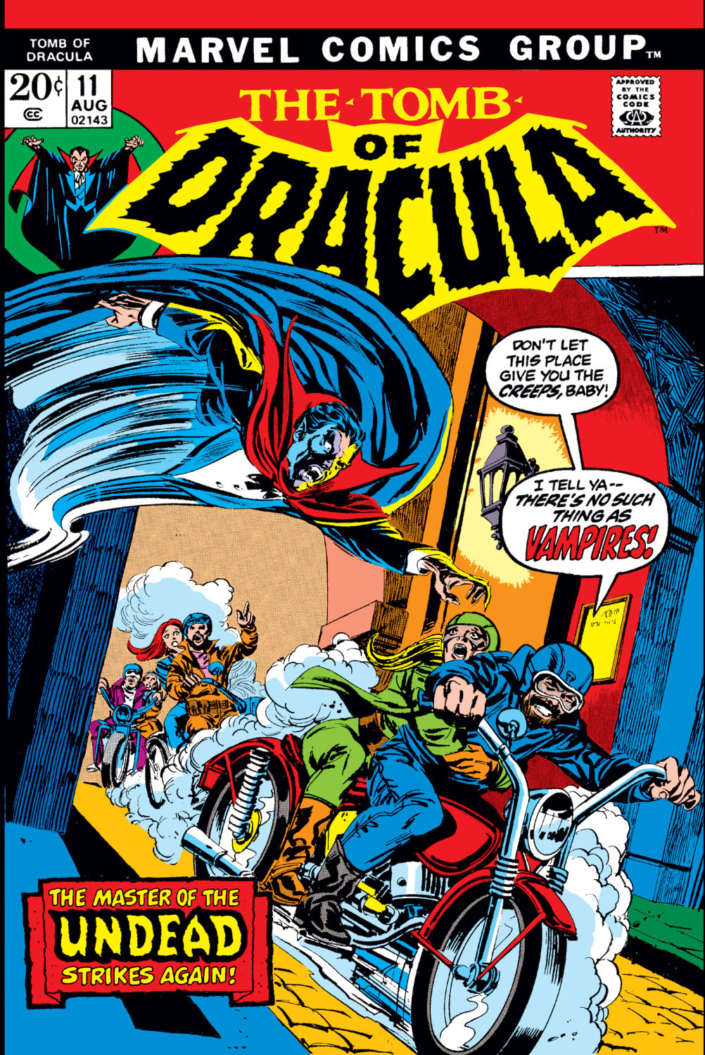 Tomb of Dracula Vol 1 11