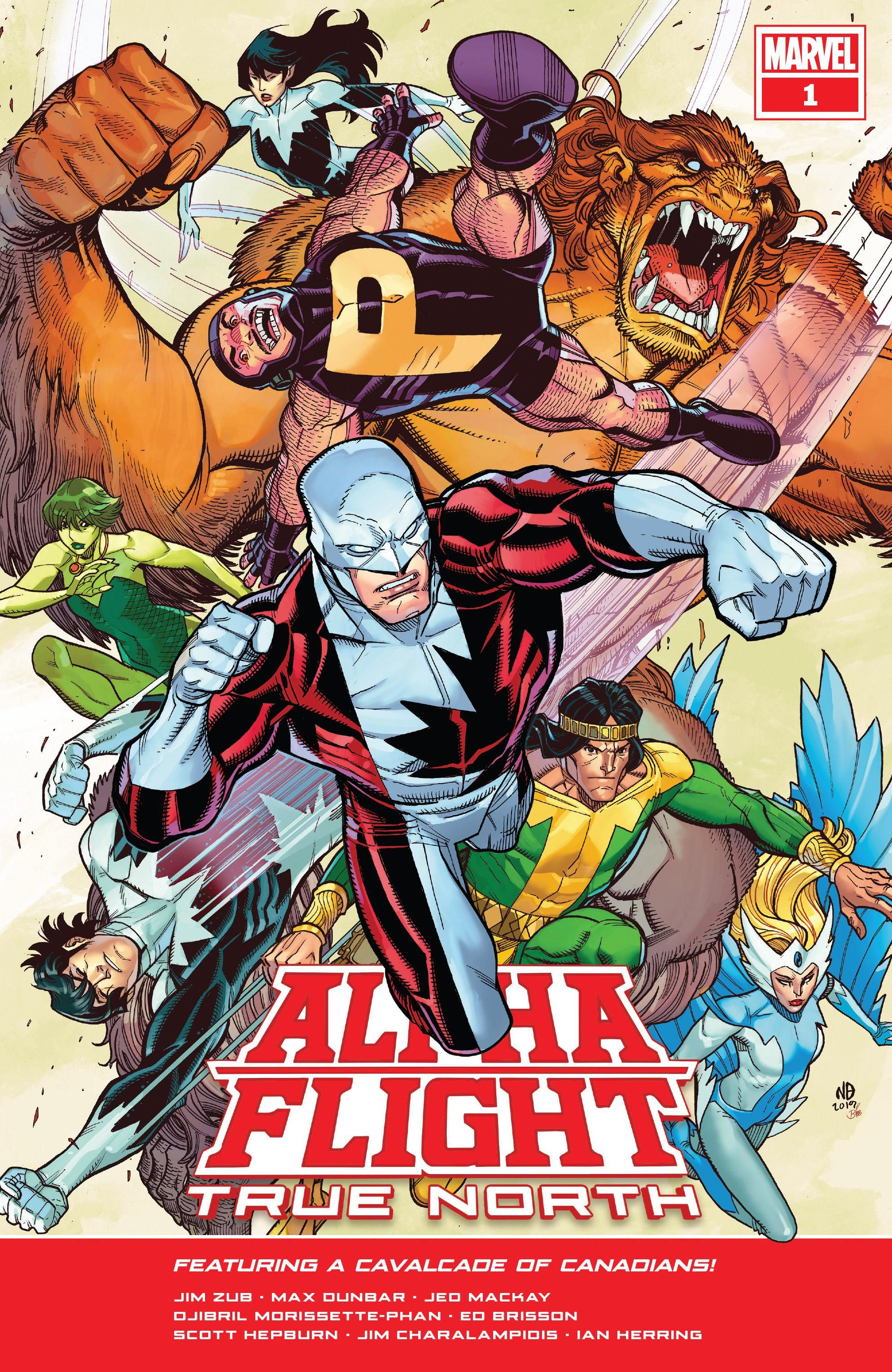 Alpha Flight: True North Vol 1 1