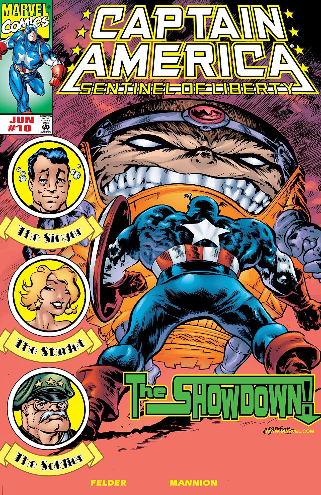 Captain America: Sentinel of Liberty Vol 1 10