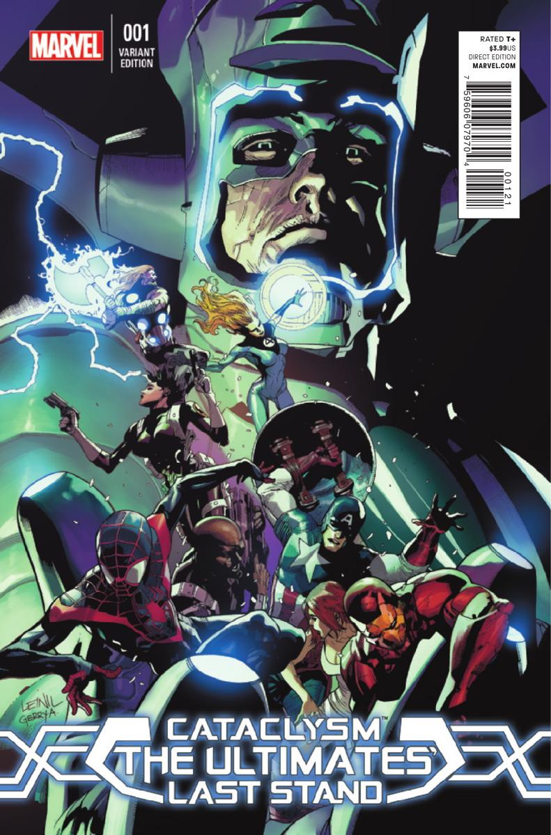Cataclysm The Ultimates' Last Stand Vol 1 1 Yu Variant.jpg