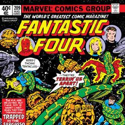 Fantastic Four Vol 1 209