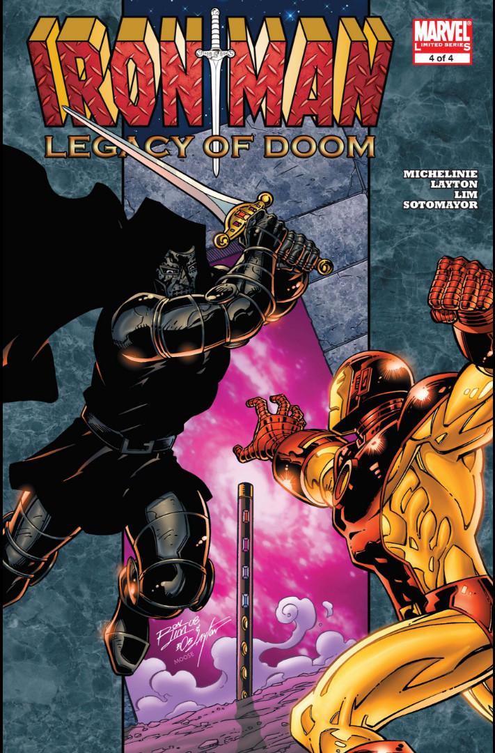Iron Man: Legacy of Doom Vol 1 3