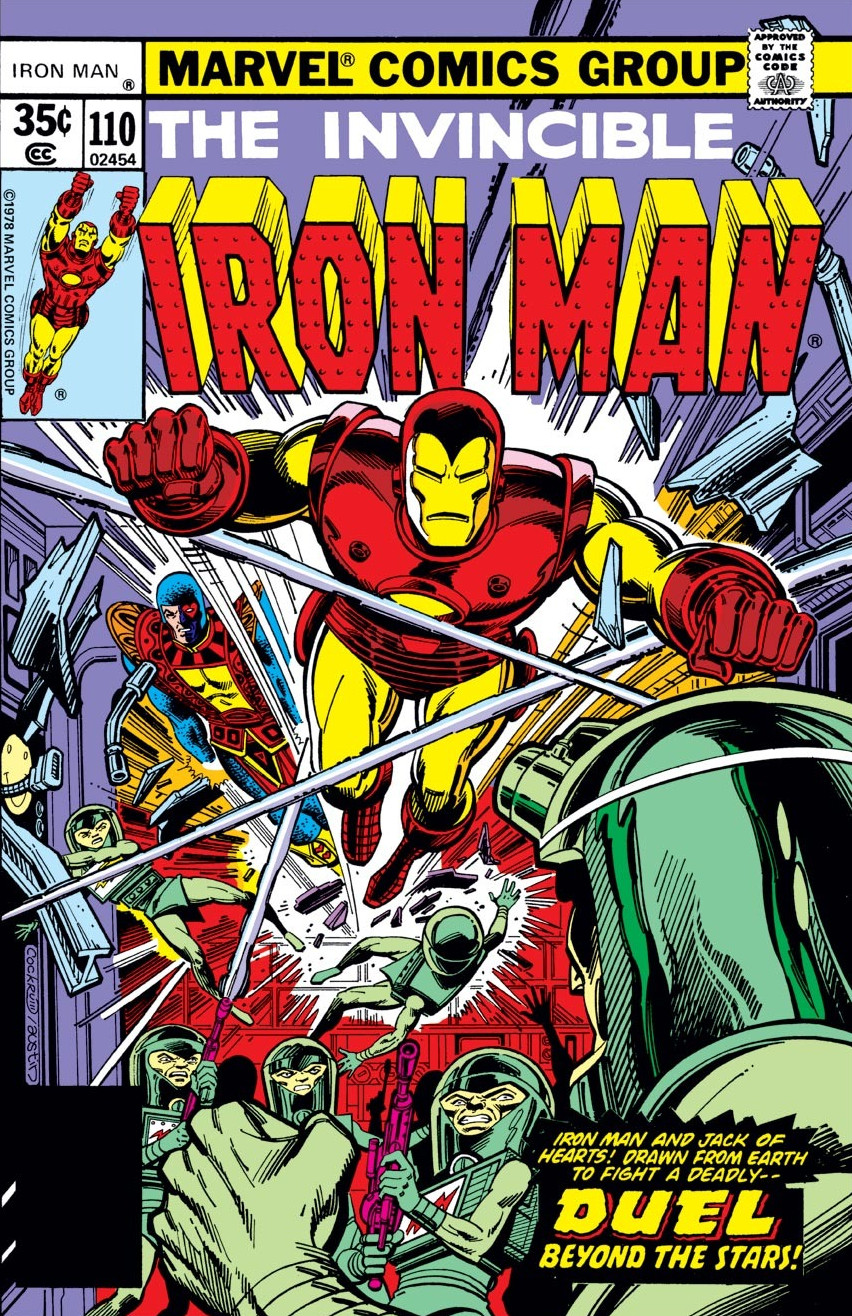 Iron Man Vol 1 110