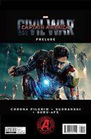 Marvel's Captain America Civil War Prelude Vol 1 1